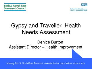 Gypsy and Traveller  Health Needs Assessment