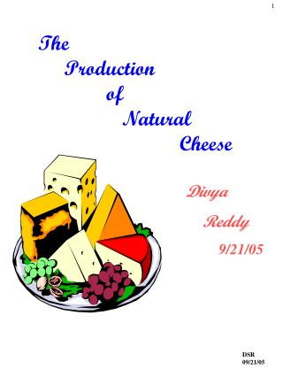 The       Production              of                 Natural                            Cheese