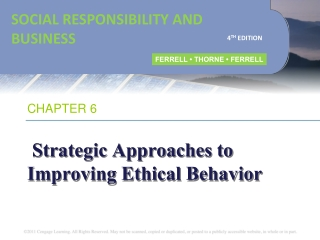 Chapter 6 Legal  Ethical Issues