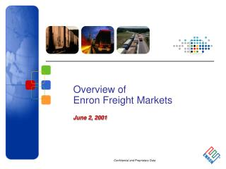 Overview of Enron Freight Markets