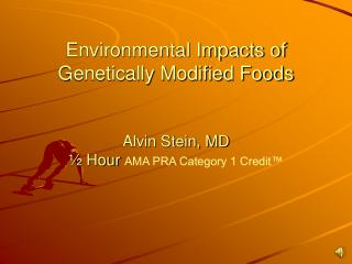 Overview of GMO Foods
