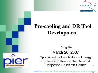 Peng Xu March 26, 2007