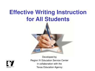 Effective Writing Instruction for All Students