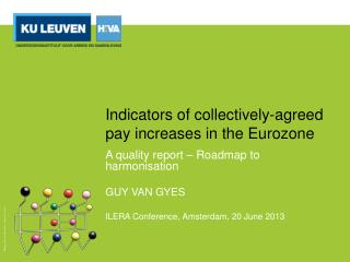Indicators of  collectively-agreed pay increases  in the Eurozone