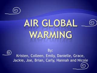 Air Global Warming
