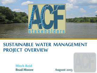 SUSTAINABLE  WATER  MANAGEMENT Project  Overview