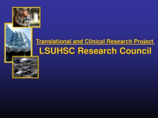 Translational and Clinical Research Project