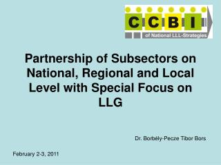 Partnership of Subsectors on National, Regional and Local Level with Special Focus on LLG