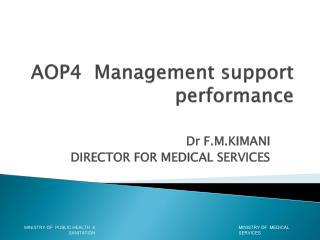AOP4   Management support   performance
