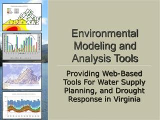 Environmental Modeling and Analysis Tools
