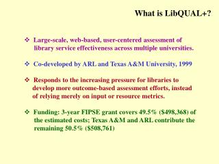 What is LibQUAL+?
