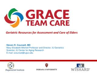 Geriatric Resources for Assessment and Care of Elders