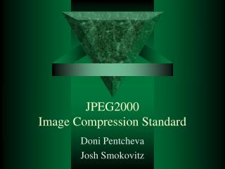 JPEG2000  Image Compression Standard