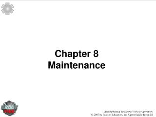Chapter 8 Maintenance