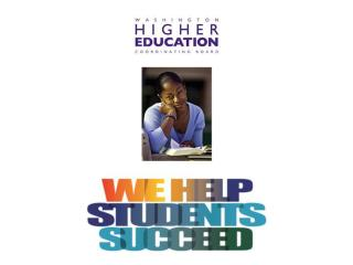 Helping Students  Transition to College  Higher Education  Coordinating Board June 2006