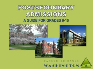 CAREER GUIDANCE WASHINGTON