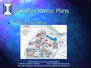 Facilities Master Plans