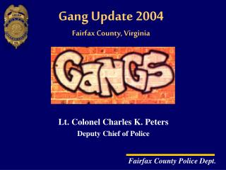 Gang Update 2004 Fairfax County, Virginia