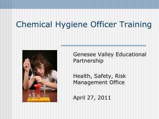Chemical Hygiene Officer Training