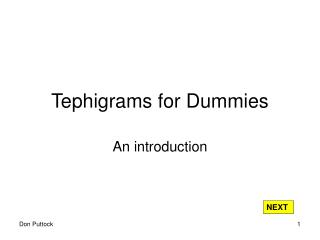 Tephigrams for Dummies