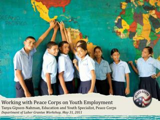 Working with Peace Corps on Youth Employment