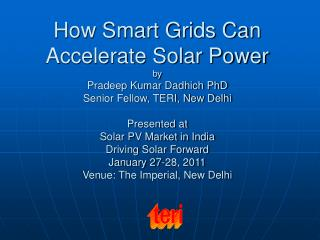 What is the Smart Grid ?