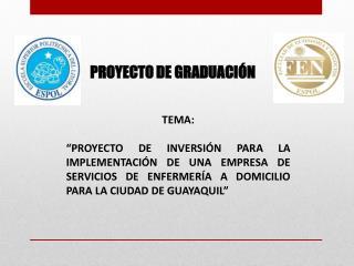PROYECTO DE GRADUACIÓN