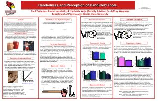 Handedness and Perception of Hand-Held Tools