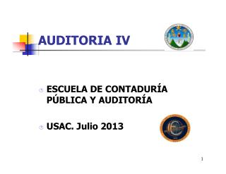 AUDITORIA IV