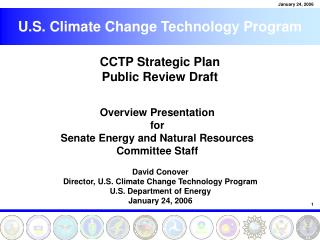 CCTP Strategic Plan Public Review Draft