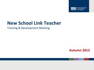New School Link Teacher Training & Development Meeting