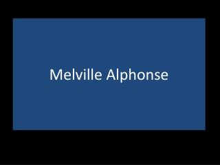 Melville Alphonse