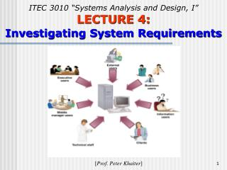 "ITEC 3010 ""Systems Analysis and Design, I"" LECTURE 4: Investigating System Requirements"