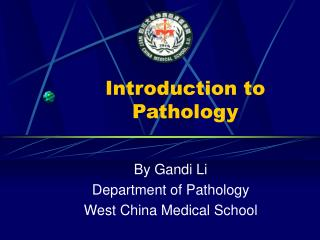 Introduction to Pathology