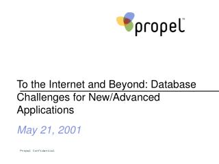 To the Internet and Beyond: Database Challenges for New/Advanced Applications