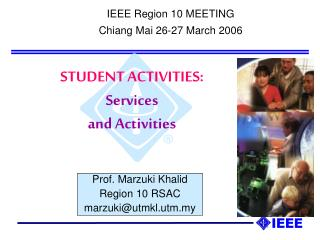 STUDENT ACTIVITIES: Services and Activities