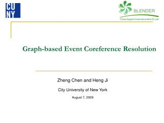 Graph-based Event Coreference Resolution
