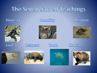 The Seven Sacred Teachings
