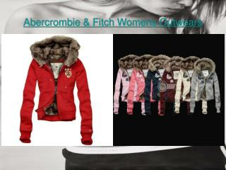 Find Abercrombie & Fitch Womens Outwears at great price