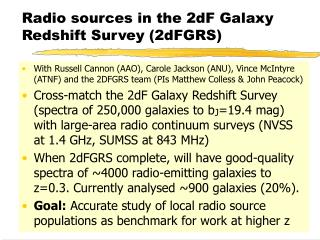 Radio sources in the 2dF Galaxy Redshift Survey (2dFGRS)