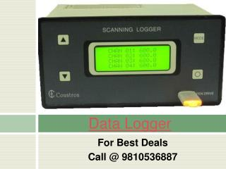 Data Logger Ph ORP Flow Meter