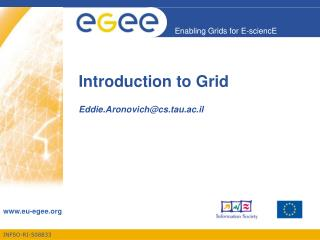 Introduction to Grid