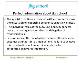 View about Jkg school