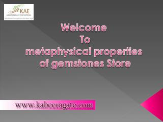 Buy Online metaphysical properties of gemstones