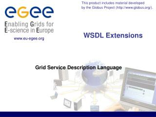 WSDL Extensions