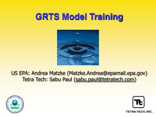 GRTS Model Training