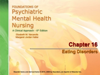 Chapter 16 Psychotherapy