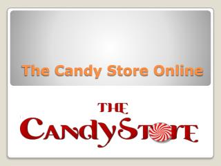 The Candy Store Online