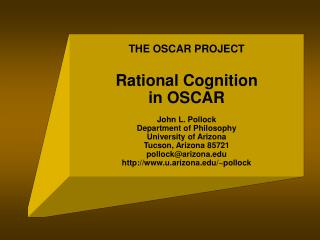 Rational Cognition