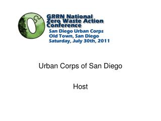 Urban Corps of San Diego Host